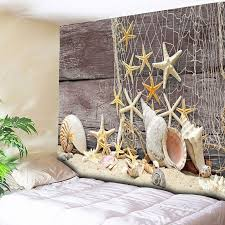 tapestry home decor 2018 home decor wall hanging beach style wood tapestry light
