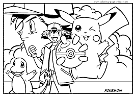 pok mon color coloring pages kids cartoon characters