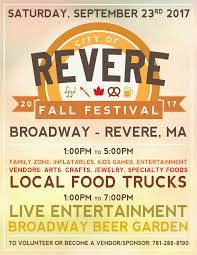 fall festival 2017 city of revere