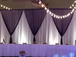 Event Drape Rental Pipe And Drape Rental By Table 4 Decor