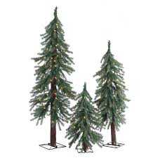 sterling inc pre lit alpine 3 green pine artificial