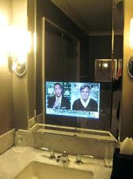 tv in the mirror bathroom bathroom tv mirror bathroom mirror tv price juracka info