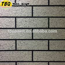 Textured Paint For Exterior Walls - tuba imitation brick texture wall paint for interior and exterior