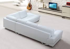 Modern White Sectional Sofa by Sofas Armchairs