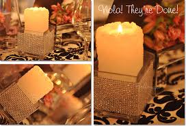 Candle Centerpieces For Birthday Parties by Glitzy Candle Holders For A Hollywood Sweet 16