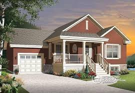 Small Craftsman Bungalow House Plans W3126 V1 Small And Affordable Bungalow House Plan Open Floor