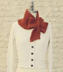 knitting pattern bow knot scarf bow tie ascot knitting patterns patterns and crochet