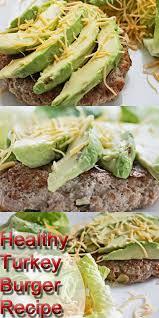 healthy turkey burger recipe clean eating diet plan meal plan