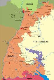 Map Of Germany And Switzerland by Baden Wikipedia
