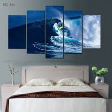 Bedroom Wall Canvases Compare Prices On Surf Wall Art Online Shopping Buy Low Price