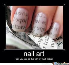 Nail Art Meme - nail art by recyclebin meme center