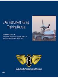 ir training manual v1 53 pdf instrument flight rules takeoff