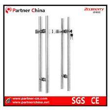 glass door pull handle china stainless steel 304 glass door pull handle with lock 03 001