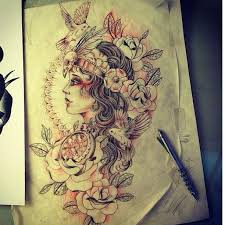 best gypsy tattoos pictures to pin on pinterest tattooskid