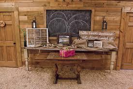 Wedding Gift Table Ideas Love American Style Barn Weddings Bridalguide