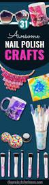31 incredibly cool diy crafts using nail polish diy ideas teen