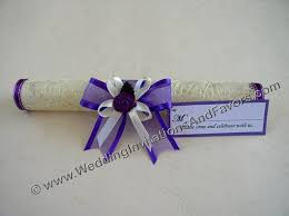 Scroll Invitation Scroll Invitations