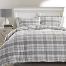 Eddie Bauer Rugged Plaid Comforter Set Modern Plaid Bedding Sets Allmodern