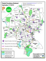 Map Of Ri Playful Providence Partners For Providence Parks