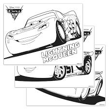 disney pixar cars 3 coloring pages night owl blog