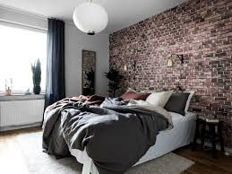 wallpaper home interior best 25 exposed brick bedroom ideas on brick bedroom