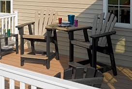 Recycled Patio Furniture Breezesta Tabletop Recycled Poly Outdoor Backyard Patio