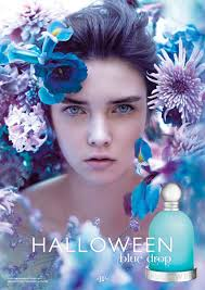 halloween perfume for women halloween blue drop by jesus del pozo fragrance ads pinterest
