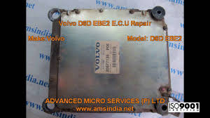 Volvo D6d Ebe2 E C U Repairs Advanced Micro Services Pvt Ltd