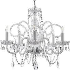 harrison lane 5 light crystal chandelier buy harrison lane venetian 5 light crystal chandelier from our