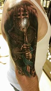 hottie hubby u0027s new tattoo st michael the patron saint of law