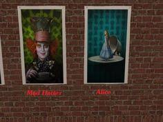 Raven And The Writing Desk The Raven And The Writing Desk Tim Burton U0027s Alice In Wonderland
