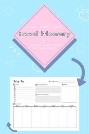 free trip planner template the 25 best travel itinerary template ideas on pinterest travel vacation itinerary template family travel planner printable itinerary travel itinerary for business trips weddings family vacation