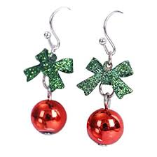 images of christmas earrings scrox fashion earring christmas earrings red bead drop earrings