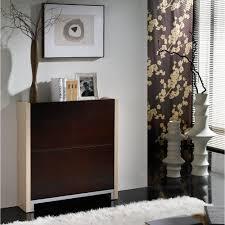 meuble cuisine wengé meuble à chaussures 4 compartiments wenge entrée