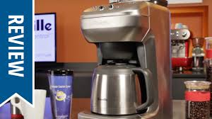 Coffee Makers With Grinders Built In Reviews Review Breville The Grind Control Coffee Maker Youtube