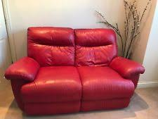 Red Recliner Sofa Leather Recliner Sofa Ebay