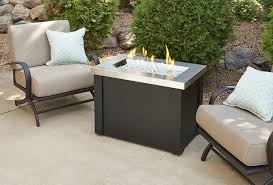 How To Build A Propane Fire Pit Table by Providence Fire Pit Table With Stainless Steel Top Fire Pits