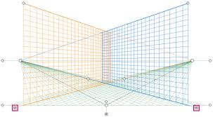 how to draw artwork in perspective in illustrator