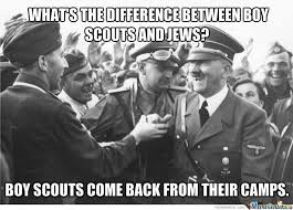 Jew Memes - difference between boy scouts and jews by ben meme center