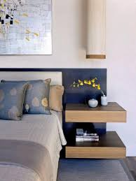 Floating Nightstand Shelf Tips For A Clutter Free Bedroom Nightstand Hgtv Clutter And