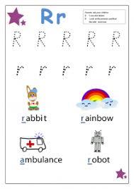 letter r worksheets for kindergarten preschool and kindergarten