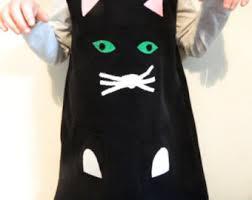 Black Kitty Halloween Costume Black Cat Dress Etsy