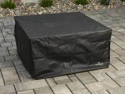 Square Firepit 42 Mocha Outdoor Pit Table Clone