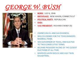 biography george washington bush george washington born february 22 ppt video online download
