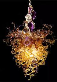 Blown Glass Chandeliers Sale Blown Glass Chandelier Blown Chandelier Glass Chandeliers