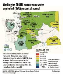 Winthrop Washington Map by Metro Snowfall Didn U0027t Affect Snowpack The Columbian