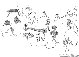 coloring page winter palace in st petersburg