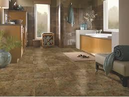 bathroom design inspired peel stick flooring in bathroom