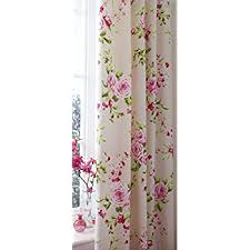 Pink Pleated Curtains Catherine Lansfield Canterbury Pencil Pleat Curtains 66x72in
