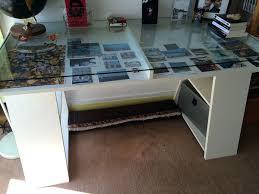 bureau ikea plateau verre bureau ikea plateau verre plaque table exterieur design bois